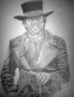 Clint Eastwood in Pale Rider by NeDrawMas