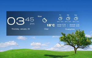 Taskbar Style Widget for xwidget by jimking