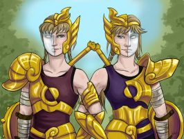 Finn Twins' gold promotion by shoy
