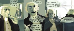 Founding fathers by Wideshanks