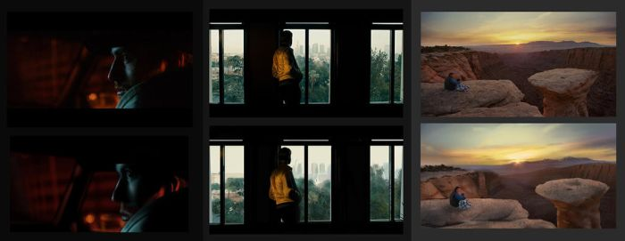 Key color film study: The drop / Drive / 127 Hour by ClaudioNaccari