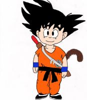 Young Goku by Soniario12