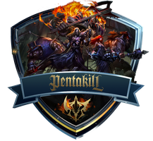 Pentakill Icon by OutlawNinja
