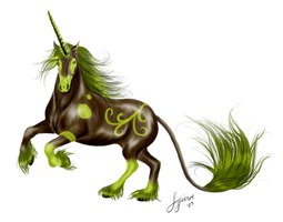 Forest Unicorn by Syeiraxx