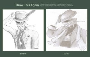 Draw This Again: Invisible Man by xXMoodyXx
