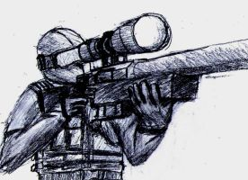 Sniper with L96 by daStig177