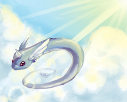 Dragonair Speed paint by sugar-cat-candy