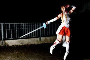 SAO Cosplay - Asuna JUMPPPPPPPP XD by K-I-M-I