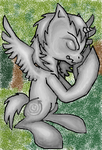 Weeping Pegasus by FrostPuppy96