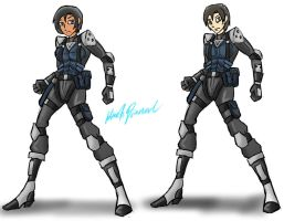 Vol-tag Stealth Suits (Female and Male) by gear25