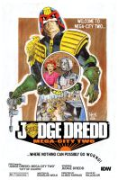 Judge Dredd: Mega-City Two #4 -IN STORES TOMORROW! by RobertHack