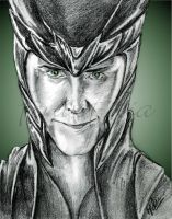 Loki, The God of Mischief by FenixFilia