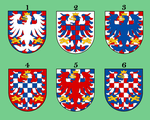 Moravia arms variations by Samogost