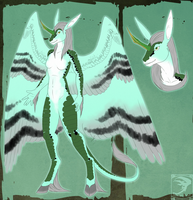 Ref Sheet Comish - Lady Kirin by TwilightSaint