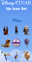 Up Icon Set by Dementor314