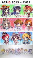 LoveLive! Acrylic Keychain with stand by abondz