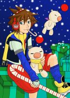 Sora :Holiday Art: by colormymemory
