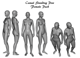 Casual Standing Pose Pack by Loosestock