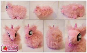 Fluffle Puff plushie by SewberryGarden