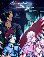 Gemini Transcending Light Webcomic Cover by KumoriNinja08