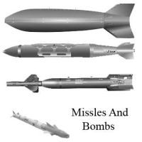 Bombs and missles by Chrippy