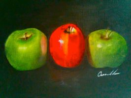Apple's in Oil by Abaez40