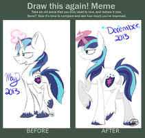 Draw it again meme by Otterro