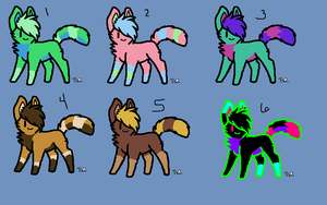 Canine/Feline Adopts {6/6 OPEN} by AvalaAdopts