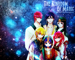 Magi: The Kingdom Of Magic - WALLPAPER by Silas-Tsunayoshi