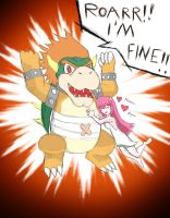 Elfenlied VS Mario - Bowser by MikeOnHighway61