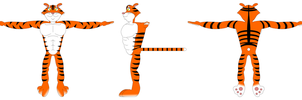 Terrance the Tiger model sheet by LDEJRuff