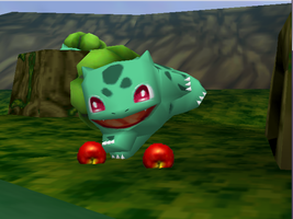 Pokemon Snap Bulbasaur by SusanLucarioFan16