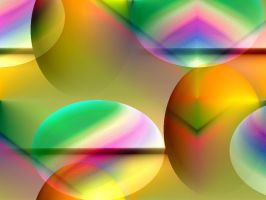 Easter Abstraction by Kancano