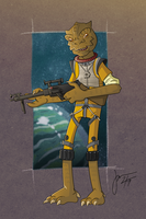SW BOUNTY HUNTERS : BOSSK by melies