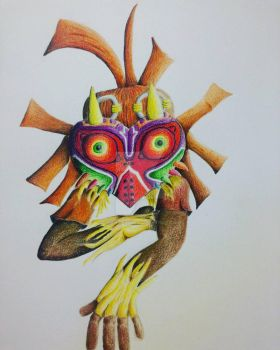 Skull Kid from Majora's Mask by okamiofwar710