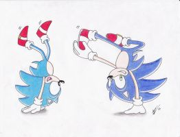 Breakdancin' Hedgehogs by Snivy94