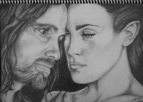 Aragorn and Arwen by Sam-in-Motion