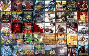 Game Aicon Pack 37 by HarryBana