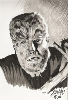 The Wolfman by PaulSpatola