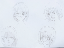 Manga Expressions by CloudRider99