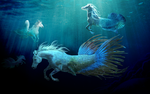 underwater fantasy. by Fenchan