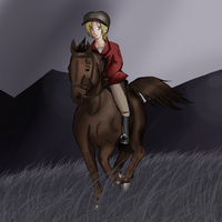 :SP: Pip..on a horse? by XToxicityX