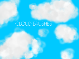 Cloudy Brush by SilentDesign