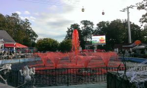 Six Flags Great Adventure bloody fountain #2 by Chernandez2020