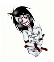 My new style- Jeff the Killer by wicia456