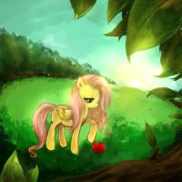 Fluttershy by cr-applesauce
