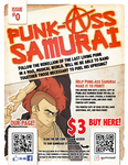 Punk-Ass Samurai Flyer by Bekuhz