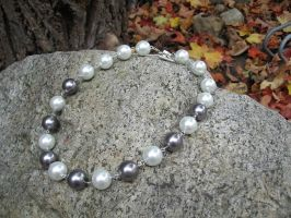 Oversized Pearl Necklace 1 by maytel