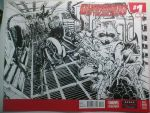 Guardians of the Galaxy Sketch Cover by natelyon
