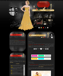 7th design with Miley Cyrus by deliasworks